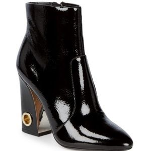 Dolce Vita Valley Patent Leather Ankle Booties